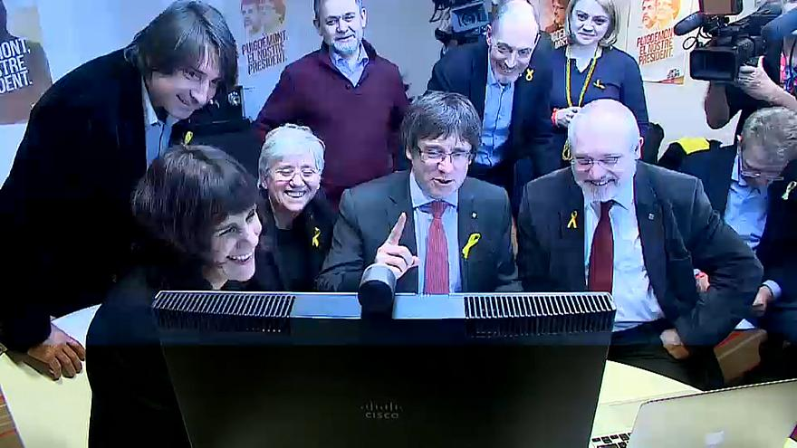 Katalan siyasetçilerin buruk sevinci