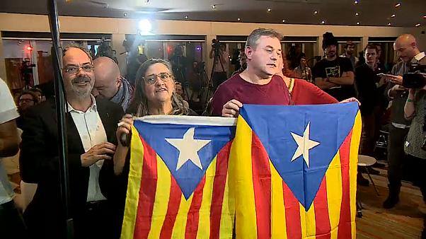 Time to go home? Exiled Catalan separatists celebrate