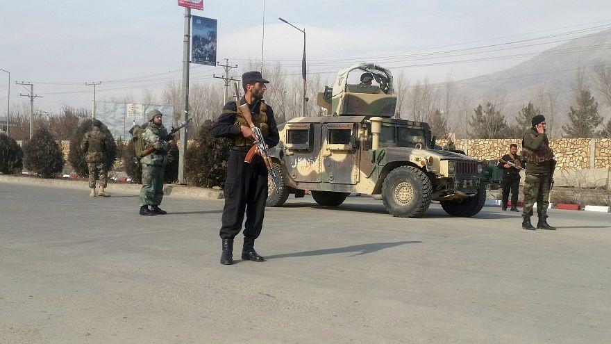 أفراد من قوات الأمن الأفغانية