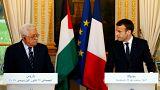 ماكرون يلتقي عباس لمناقشة تداعيات القرار الامريكي بشأن القدس