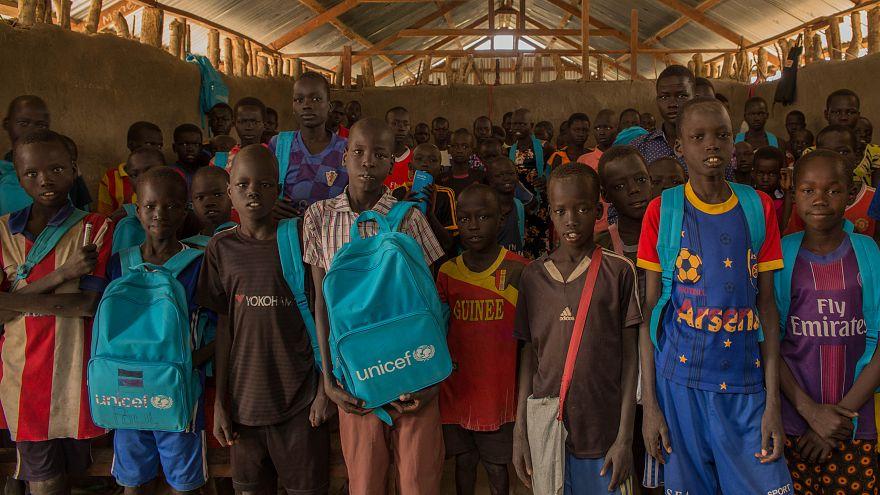 Bambini in Sud Sudan
