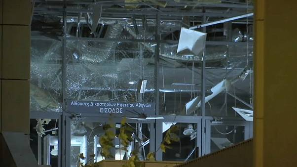 Взрыв у здания Апелляционного суда в центре Афин
