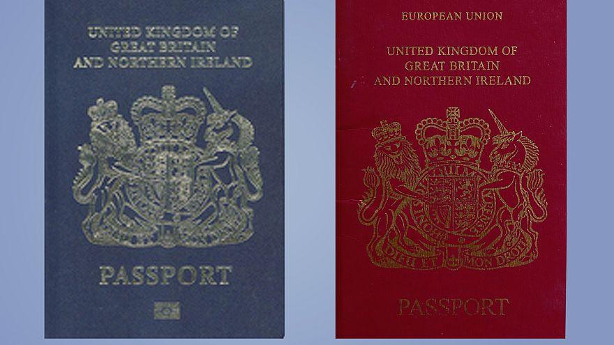 'Fake news!' 'PR stunt!' UK blue passport plans trigger emotive row