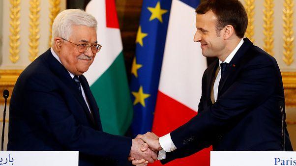 """Abbas in Paris: USA haben sich """"disqualifiziert"""""""