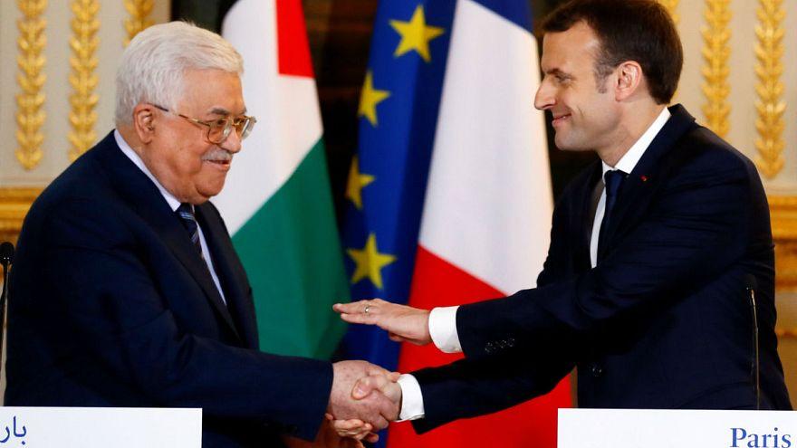 Macron ve Abbas'dan ortak Kudüs tepkisi