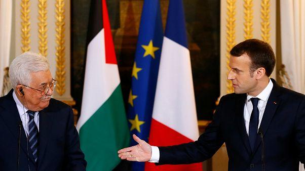 Abbas e Macron criticam posição de Trump sobre Jerusalém