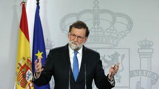 Rajoy:  Yeni Katalan hükümetiyle görüşmeye hazırım