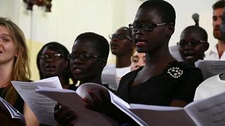 Güney Sudan'lı kimsesiz çocuklar korosu