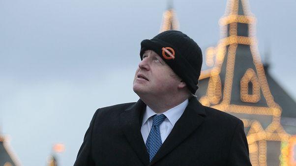 Boris Johnson in Moskau