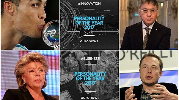 نامزدهای شخصیت سال یورونیوز