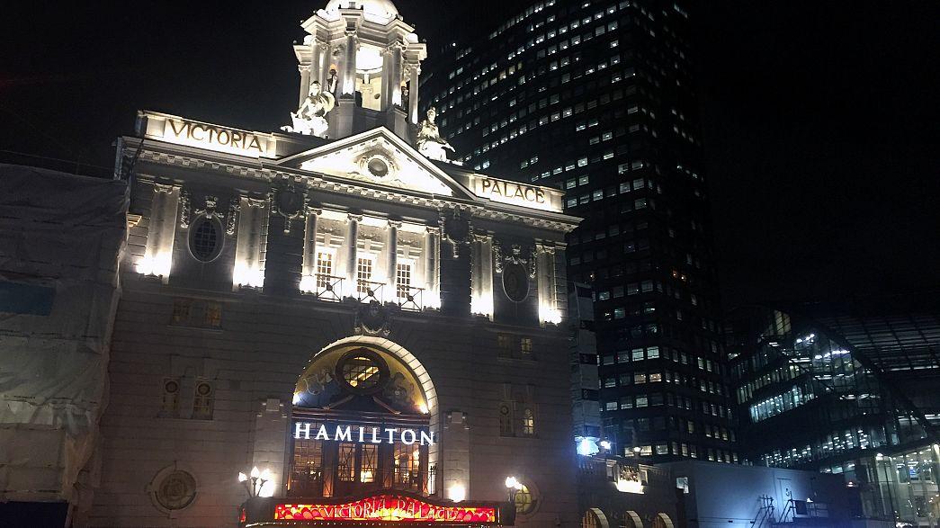 """""""Hamilton"""", la comédie musicale évènement, est à Londres"""
