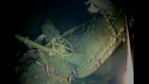 Marinha australiana encontra submarino da I Guerra Mundial