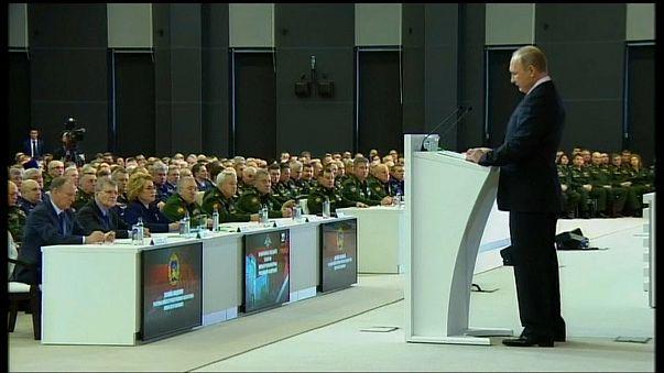 """Путин: новая стратегия США """"носит агрессивный характер"""""""