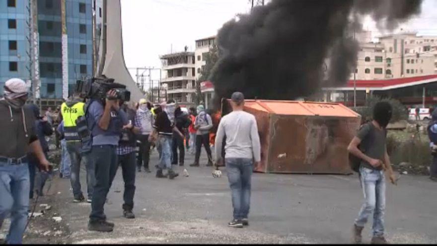 Újabb zavargások a gázai határnál