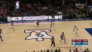 NBA: Toronto sbanca Philadelphia
