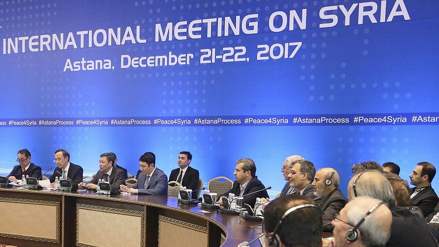 Astana Barış Görüşmeleri'nin 8. turu sona erdi