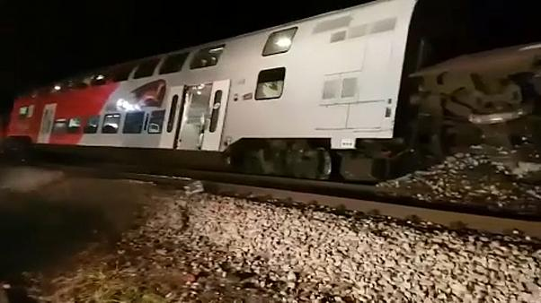 Vonatbaleset Ausztriában, többen megsérültek