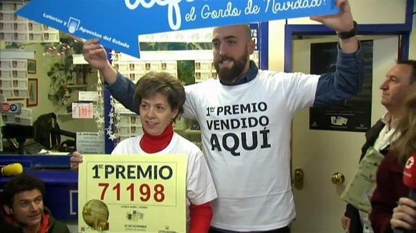 """El """"Gordo"""" deja una lluvia de millones en un pueblo de Galicia"""
