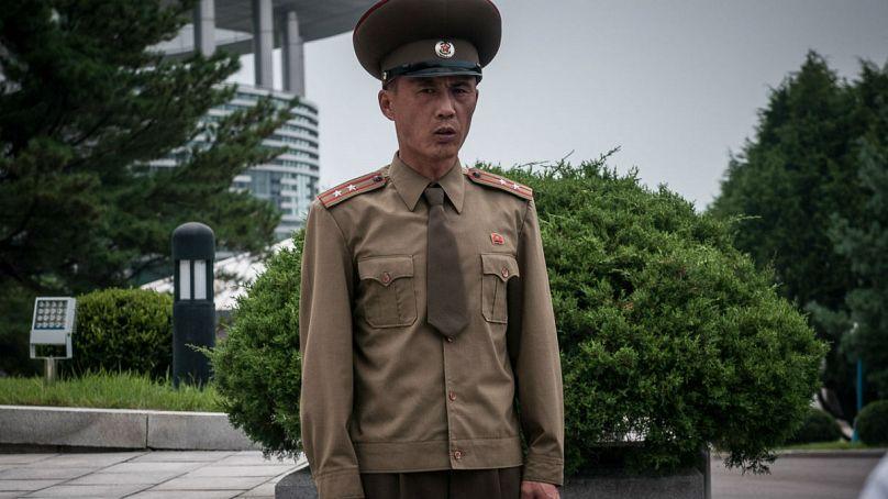 Un soldato nordcoreano