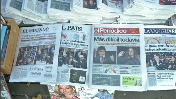Catalogna, le reazioni di Barcellona