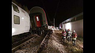 اصطدام قطارين بالقرب من العاصمة النمساوية فيينا