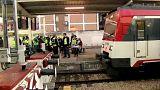 A baknak ütközött egy spanyol vonat, sérültek