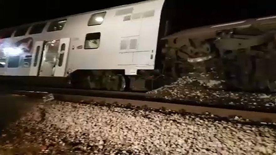 Összeütközött két vonat Bécs közelében