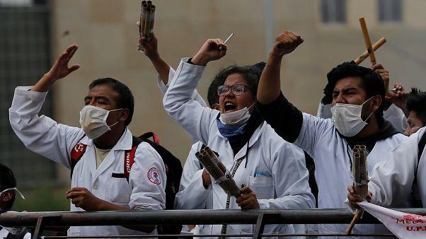 Les médecins boliviens sont en grève