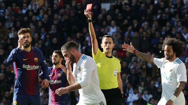 """Calcio: il Barcellona """"mata"""" il Real Madrid"""