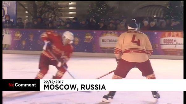 Putin sobre gelo