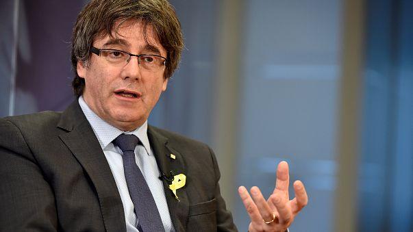 Former Catalan president Puigdemont