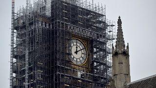 La campana del Big Ben repica de nuevo por Navidad