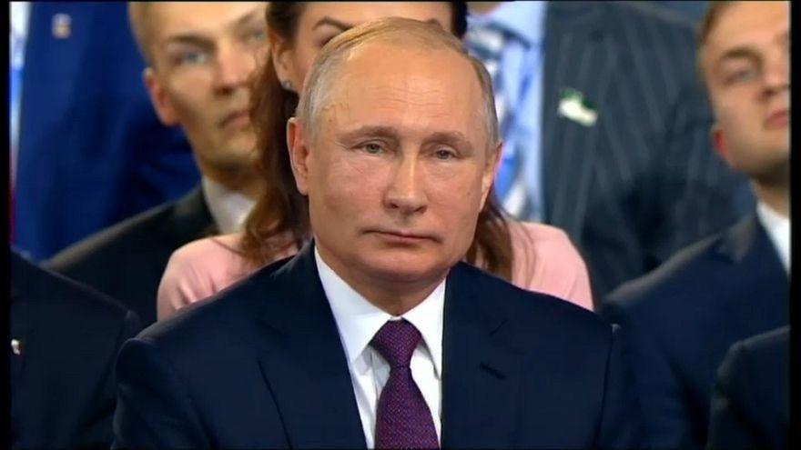 Putin se lanza a la carrera por un cuarto mandato presidencial