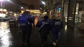 The Street Pastors pounding the pavements in Glasgow