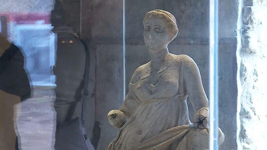 Las autoridades italianas abren al público tres nuevas domus en Pompeya