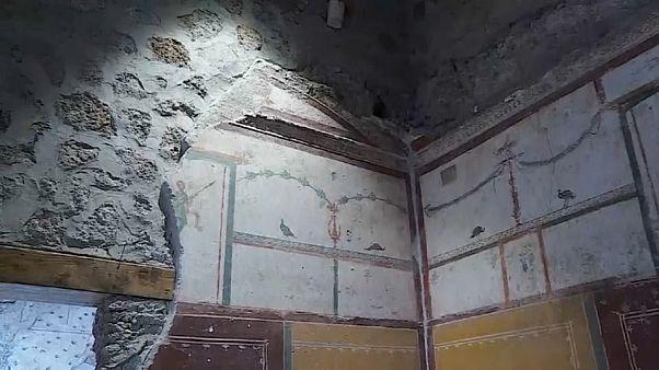 Pompeii'de üç antik yapı ilk kez kapılarını açtı