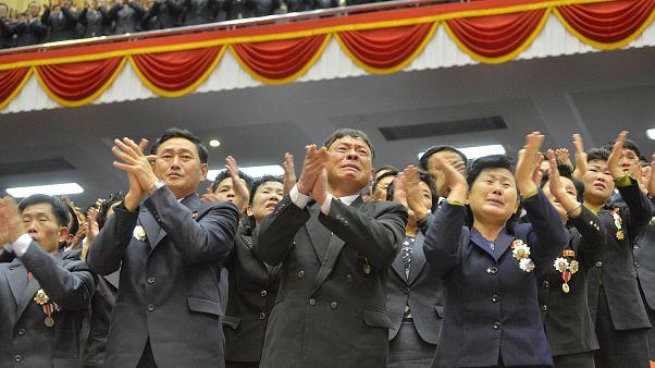 Az Észak-Koreai Munkáspárt ülése december 23-án