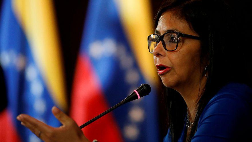 Delcy Rodriguez, az alkotmányozó nemzetgyűlés elnöke