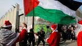 التوتر والحزن يخيم على احتفالات الميلاد في مهد المسيح