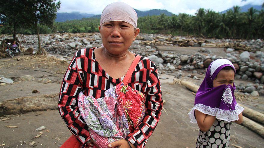 Las inundaciones dejan en Filipinas cerca de 200 muertos