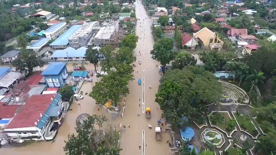 Южные Филиппины под водой