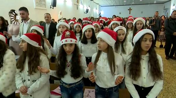 Tausende feiern Weihnachten im Heiligen Land