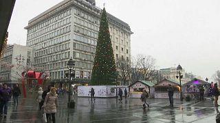 Backlash in Belgrade over Christmas tree cost