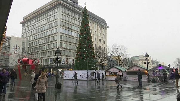 Backlash in Belgrade over Christmas tree cost