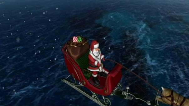 How to follow Santa Claus as he makes his Christmas eve journey around the world