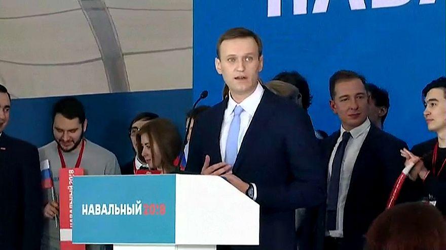 Alexeï Navalny mais perto das presidenciais russas