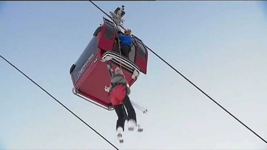 Шамрусс: лыжники застряли в воздухе