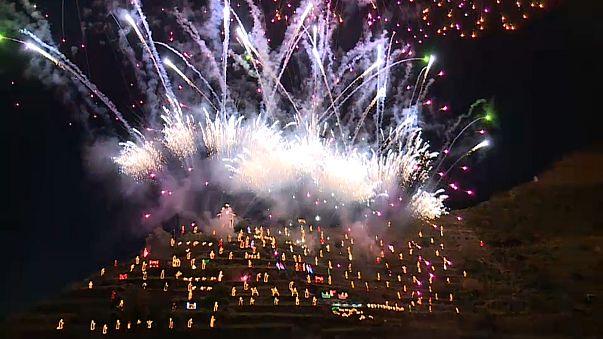 Presépio de Manarola já está iluminado