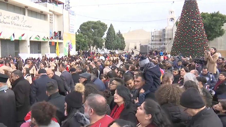 Weihnachtsfeierlichkeiten in Bethlehem