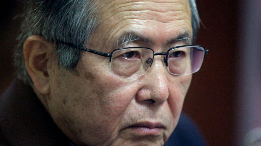 رئيس بيرو السابق البرتو فوجيموري